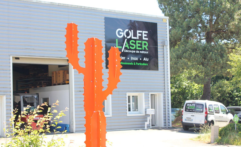 Découpe laser métal - Golfe Laser en Bretagne