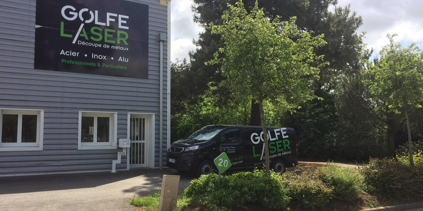Enseigne Golfe Laser à Plescop